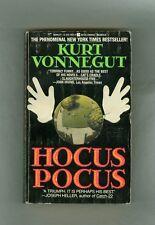 Kurt Vonnegut Jr. HOCUS POCUS N.Y.  Prison Escape Vietnam Vet Sex Slaughterhouse