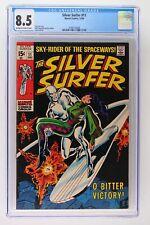 Silver Surfer #11 - Marvel 1969 CGC 8.5