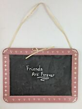 Retro Vintage Friends Forever Wall Hanging Plaque Decor Chalkboard Home Decor