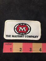 Vtg M THE MASSART COMPANY Advertising Patch 89XA