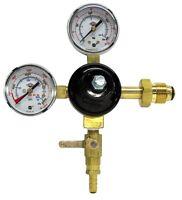 TAPRITE Dual Gauge Regulator CO2 Tank Primary Nitrogen Beer Homebrew Kegerator