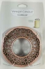 Yankee Candle ILLUMA LID Illumalid Grange Collection Satin Rose Gold for Jars