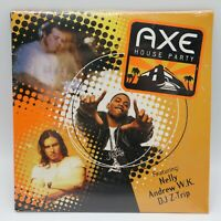 Axe House Party CD feat. Nelly Andrew WK DJ Z-Trip 2003 Sealed Promo