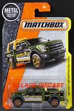 2017 Matchbox #47 '15 Ford F-150 Contractor Truck GREEN/LOCHNER LUMBER/MOC