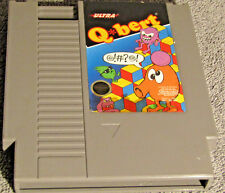 Qbert (Nintendo Entertainment System, 1989) NES USED GAME TESTED WORKS GREAT