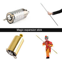 Silk to Wand  Metal Appearing Cane Professional Magician Stage Magic Tricks toy