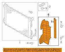 KIA OEM 17-18 Forte 2.0L-L4 Radiator-Air Guide Left 29136B0000