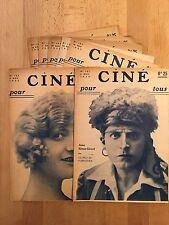Ciné Pour Tous - 1922 - 7 numéros - TBE