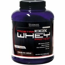 Ultimate Nutrition Prostar 100% Whey Protein 5lb Chocolate Creme