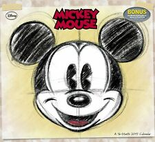 Disney Mickey Mouse Wall Calendar (2015) - frameable artwork