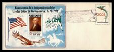 New listing Dr Who 1976 Guatemala Fdc Us Bicentennial Cachet Imperf S/S 195032