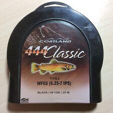 Cortland 444 Classic Type 6 WF6S Black