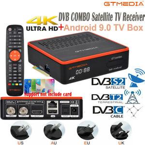 Original 4K DVB Combo Satellite TV Receiver 4:2:2 Video Decoder 5G WIFI PVR Box