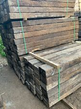 More details for 1st grade reclaimed pine railway sleepers, delivery or collection (softwood)