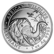 2018 1 oz Somalian Silver Elephant Coin (BU)
