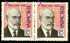 1961 Petru Poni,Chemist,Chemistry,Physicist,Mineralogist,Romania,1958MNH,Error/1