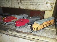 Vintage Bachmann mixed locomotive and starter set lot