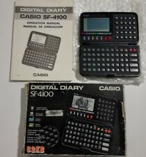 Casio Digital Diary SF-4100