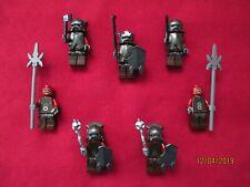LEGO LOTR Minifigures Lot. Uruk-Hai Soldiers ,Armor,Helmet,Weapons
