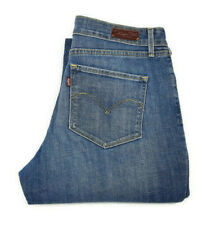 "LEVIS Womens Bold Curve Classic Boot Cut Blue Zip Fly Jeans - W31"" X L34"""