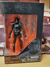 Star Wars Rogue One Imperial Death Trooper 3.75 The Black Series