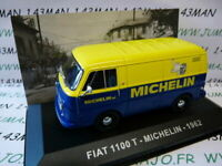 PIT28D voiture 1/43 IXO Altaya Véhicules ITALIE  FIAT 1100 Michelin 1962