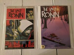 TMNT THE LAST RONIN #4 SET OF TWO COVERS A & 1:10 B IDW PUBLISHING NM