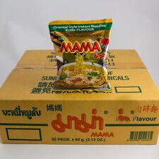 1 Carton Mama Porc Soupe au Vermicelle 30x60g Thai Soupe