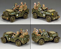 KING & COUNTRY OPERATION MARKET GARDEN MG068 CAPTURED JEEP SET MIB