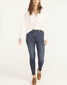 J.Crew $128 Curvy Toothpick Jean in Dryden Wash Size 33 H8209