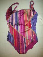 Gottex Multicolor Dream Catcher 1 PC Tank Style Swimsuit Sz 18