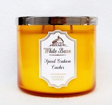 1 Bath & Body Works SPICED GRAHAM CRACKER Large 3-Wick Filled Candle