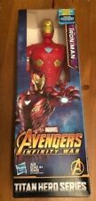 "Marvel Iron Man Avengers Infinity War 12"" Action Figure Titan Hero Series New"