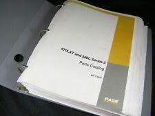 Case 570lxt 580l Series 2 Skip Loader Backhoe Parts Manual Book In Binder Oem
