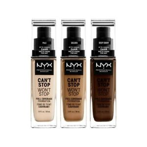NYX CAN'T STOP WON'T STOP FULL COVERAGE FOUNDATION - CHOOSE YOUR SHADE