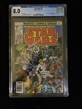 MARVEL STAR WARS #2, 8/77, CGC 8.0 OFF-White TO WHITE PAGES,  6018