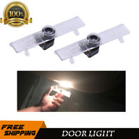 2 LED Car Door Welcome Light For Nissan Courtesy Ghost Shadow Laser Projector
