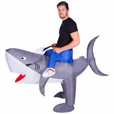 - Inflatable Adult Shark Fish Fancy Dress Costume by Bodysocks