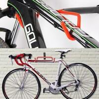Bike Bicycle Wall Mounted Rack Storage Hanger Holder Hook Metal Foldable A0U0
