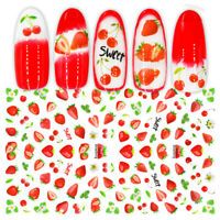 3D Nail Stickers Self-adhesive Mixed Pattern Transfer Decals Nail Art Decoration