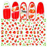 3D Nail Stickers Mixed Flower Animal Fruit Self-adhesive Nail Art Decals Decors
