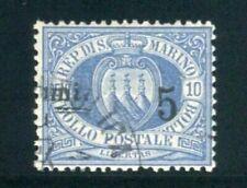 Francobolli blu usati