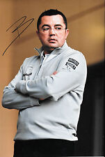 Eric Boullier SIGNED 12x8 , F1 McLaren Director of Racing Portrait 2015