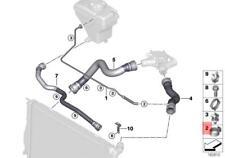 Genuine Brake Hose Clamp x5 pcs BMW ROLLS-ROYCE BMW I MINI Alpina 34321156893