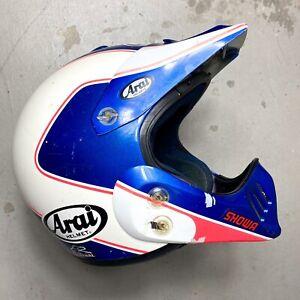 Vintage 1991 Arai Jeff Stanton Replica Motocross Helmet XL - axo honda tx-10