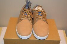 CLAE Tan Leather and Textile Men Sneakers Size 8