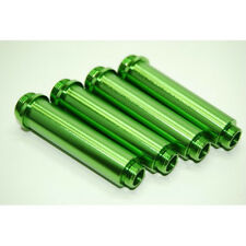 AXIAL AX10 GREEN ALUMINUM SHOCK BODY SET 4PCS AX012G AX80013 AX30122