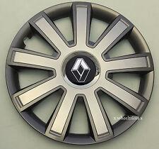 "Brand New grey/silver 15"" wheel trims to fit Renault Scenic,Megan,Kangoo"