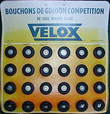 NOS Velox Competition De Luxe Rubber Handelbar Plugs(pair), France,FREE Ship USA