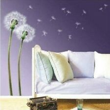 Aesthetic dandelion Home room Decor Removable Wall Sticker/Decal/Decoration